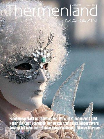 Thermenland Magazin, Januar 2018