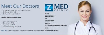 Z Med Clinic - The #1 Medical Weight Loss Clinic Houston, TX