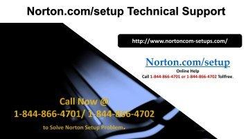 norton.comsetup-@1-844-866-4701