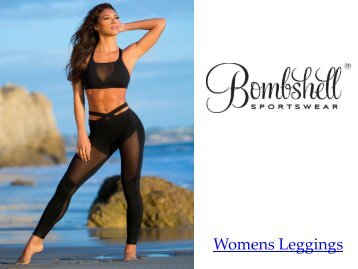 Top Womens Leggings  Online at Bombshell Sportswear