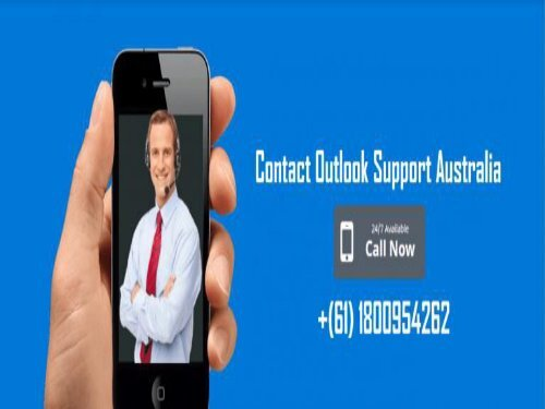 Outlook Support Number Australia +61 (180)-095-4262