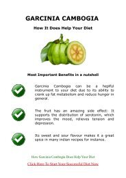 Garcinia Cambogia Review - How It Does Help Your Diet