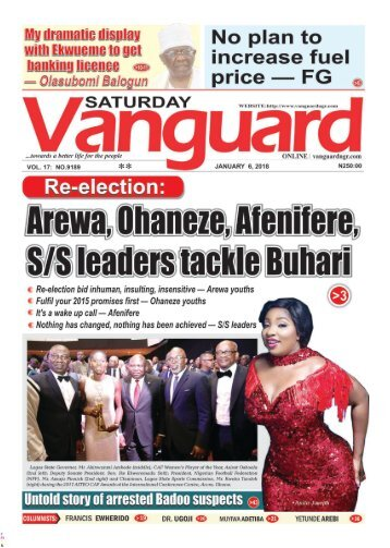 06012018 - Re-election Arewa, ohaneze, Afenifere, S/S leaders tackle Buhari