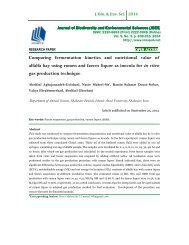 Comparing fermentation kinetics and nutritional value of alfalfa hay using rumen and faeces liquor as inocula for in vitro gas production technique