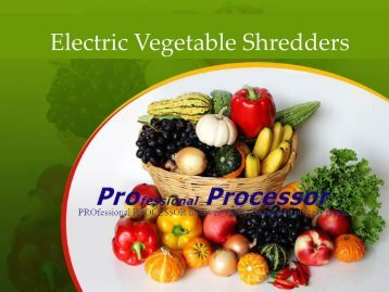 Buy Highest Level Of Vegetable Shredder Accessories In USA