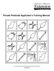 Private Pesticide Applicator's Training Manual - University of ...