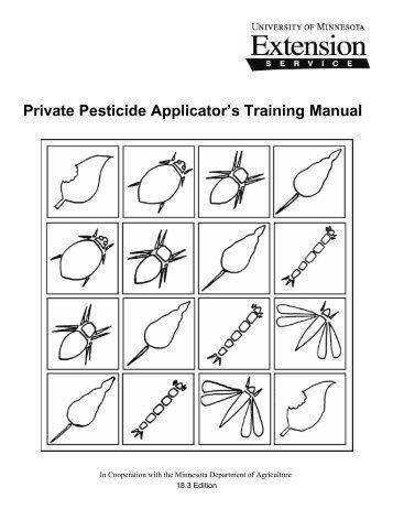 Private Pesticide Applicator's Training Manual - University of ...