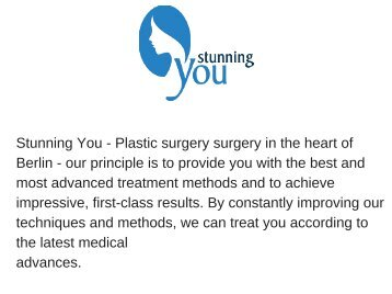 Tummy tuck Berlin