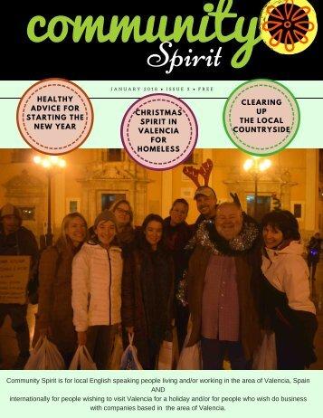 Community Spirit Valencia Jan 2018