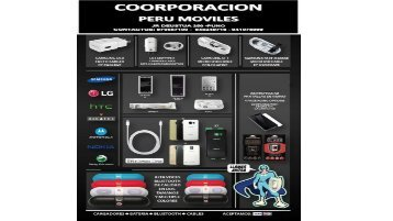 CATALOGO CORPORACION PERU MOVILES