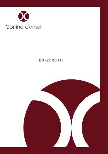 Kurzprofil der Cortina Consult