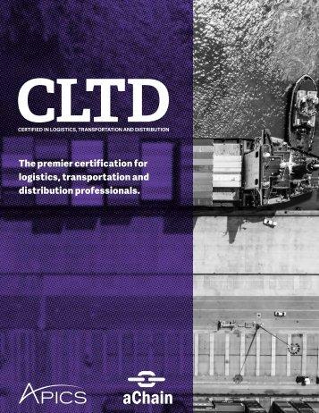 CLTD 2018 - aChain APICS - Brochura