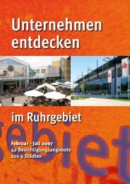 im Ruhrgebiet - Stadtmarketing Forum Ruhr
