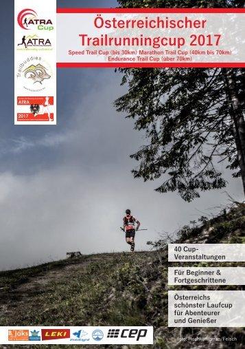 Österreichische Trailrunning Cup Broschüre 2017