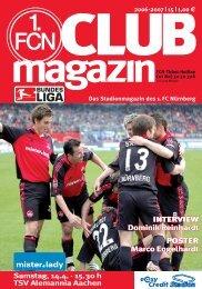 INTERVIEW Dominik Reinhardt POSTER Marco ... - 1. FC Nürnberg