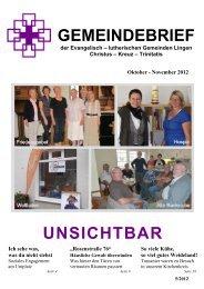 November 2012 - Evangelisch-lutherische ...