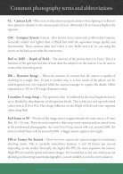 Common photography terms and abbreviations - Page 4