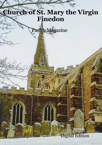 St Mary's January 2018 Magazine