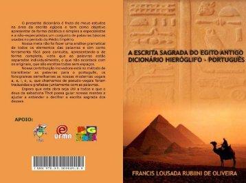 R$ 7,00 A Escrita Sagrada do Antigo Egito