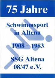 75 Jahre SSG Altena 08/47 e.V.