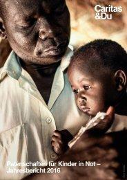 Patenschaften für Kinder in Not 2016
