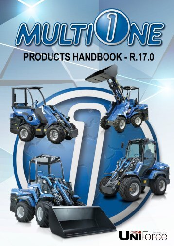 MultiOne UniForce 2018 Catalog