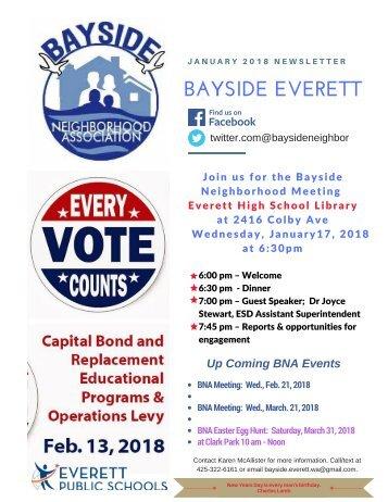 January 2018 Bayside Everett News
