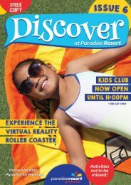Paradise Resort Gold Coast, Australia Discover Magazine ISSUE #6
