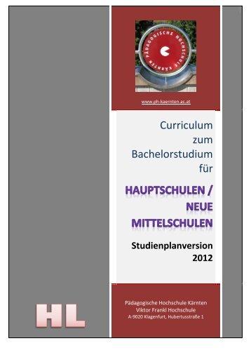 Schulpraktische Studien 1 - Pädagogische Hochschule Kärnten