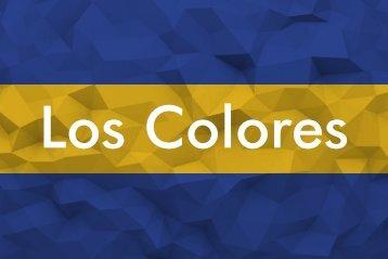 Tarjetas Colores