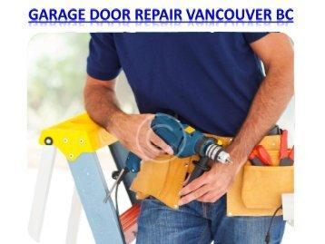 Garage Door Repair Vancouver BC