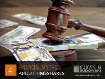 4 False Claims About Timeshare