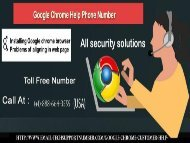 Contact for Goolge Chrome Customer Services +1-888-664-3555 Toll Free Number