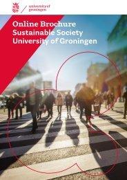 Online Brochure Sustainable Society University of Groningen