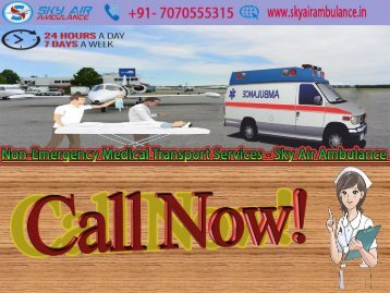 Quick Access Sky Air Ambulance from Patna to Delhi at Lowest Price