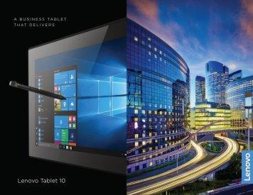 Lenovo_Tablet 10_01-03-18