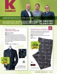 Extra SALE | Winter-Schluss-Verkauf bei Kimmich