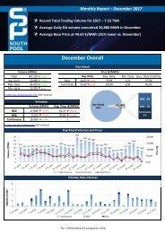Trading report December 2017