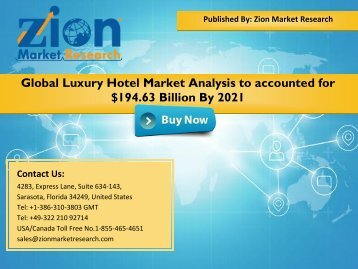 Luxury Hotel Market 1