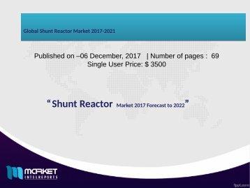 Global Shunt Reactor Market 2017-2021