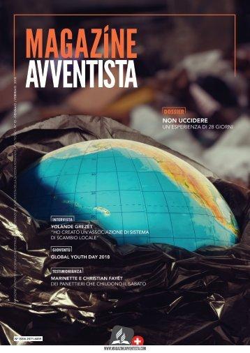 Magazine Avventista - GENNAIO / FEBBRAIO 2018