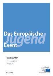 Das Programm zum EYE2018