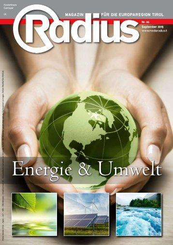 Radius Energie und Umwelt 2015