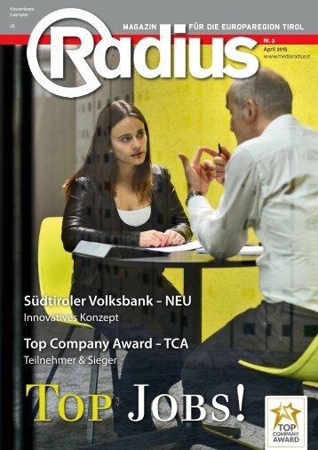 Radius Top Jobs 2015