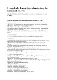 Evangelische Landesjugendvertretung im Rheinland
