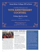 Sweet Briar College JYF in Paris Alumni Magazine - December 2017 - Page 6