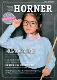 HORNER Magazin | Januar-Februar 2018