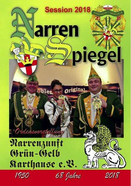 NZGG Narrenspiegel 2018