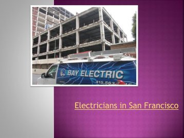 Electricians-in-SanFrancisco