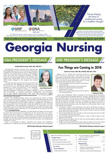 Georgia Nursing - February 2018